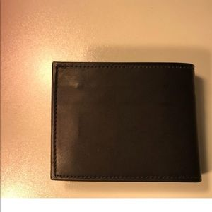 Other - Bifold Black Leather wallet